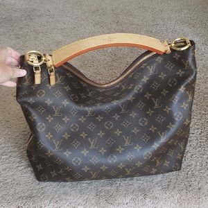 Louis Vuitton coated canvas Sully MM